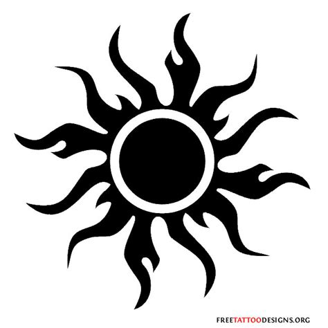 tribal sun tattoos pictures 65 sun tattoos tribal sun designs