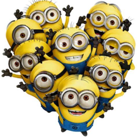 imagenes en png de minions stickers et autocollant d 233 co minion coeur