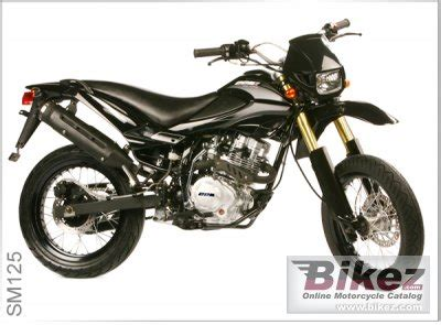 125ccm Motorr Der Liste by 2009 Ccm Sm 125 Specifications And Pictures
