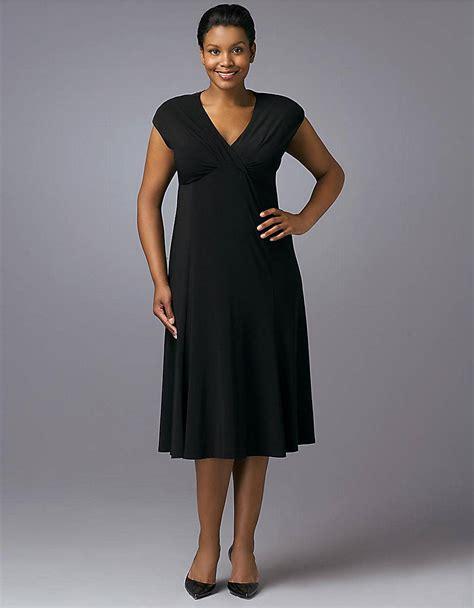 Dress Hodie New York jones new york black capsleeved vneck dress in black lyst