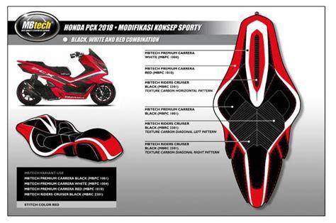 Raiser Fatbar Rcb modif pcx 150 sporty jok mbtech knalpot