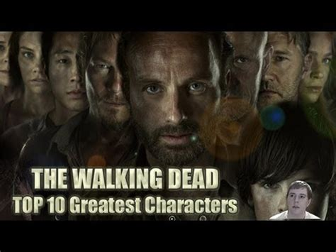 tv couch walking dead the walking dead tv series top 10 greatest characters as