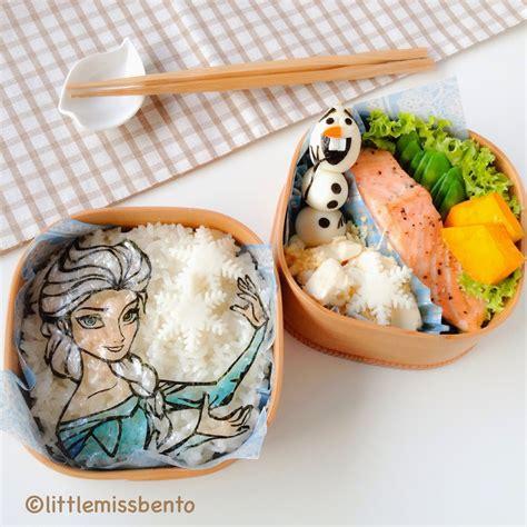 Ekkado Bento Frozen Food olaf and snow elsa bento アナと雪の女王 キャラベン miss bento