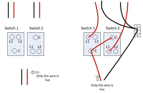 light switch wiring diagram l1 l2 wall light switch