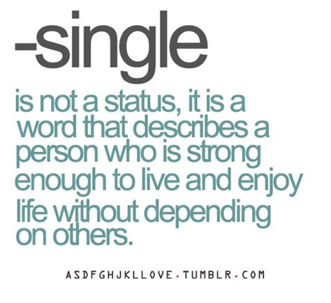 quotes about single people single quote on