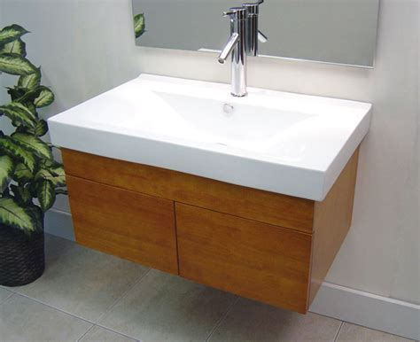 Sink Wall Mounted Vanity by Wall Mounted Bathroom Vanities