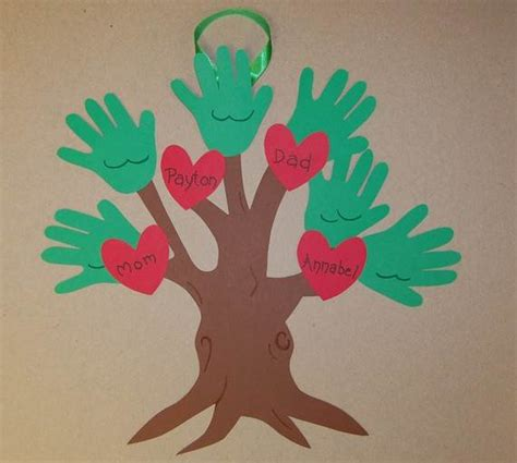 tree craft ideas family tree craft template ideas family net