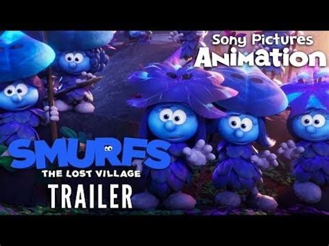the lost trailer official smurfs the lost official teaser trailer doovi