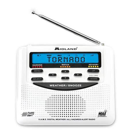 midland wr120 portable noaa weather alert radio