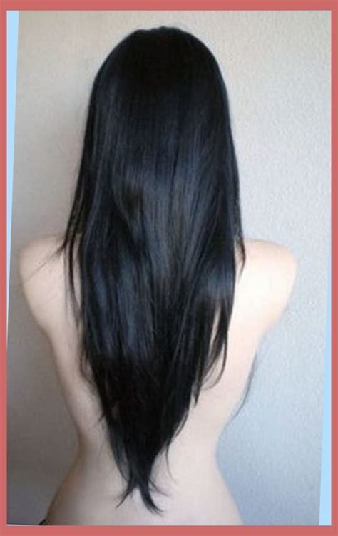 haircut shape v shaped haircut for thin hair right hs