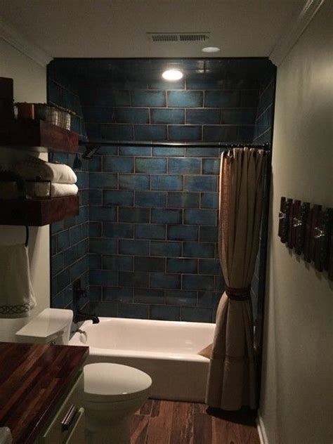 mediterranean vibe bathroom shower tile catania blue       small closet redo