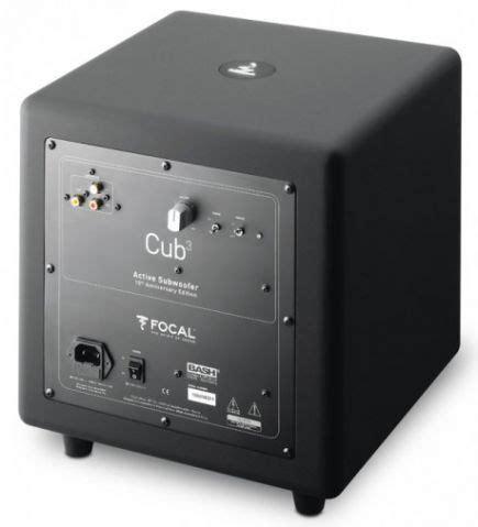 focal  sib cub home theater speaker system black