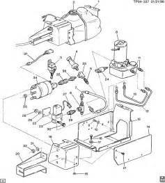 Chevy P30 Brake System Diagram Parking Brake System Actuator Asm