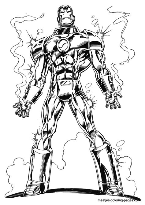 iron man coloring pages easy ironman coloring page