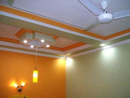 contoh kombinasi warna cat plafon rumah mewah minimalis