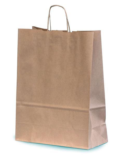 Paper Bag Kraft Besar 25x9x32 Cm kraft paper gift bag with twisted handles 31 cm x 11 cm x 42 cm sbnt031