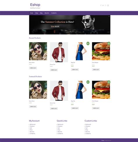 themes online store wordpress 5 best free wordpress ecommerce themes ghana webmaster blog