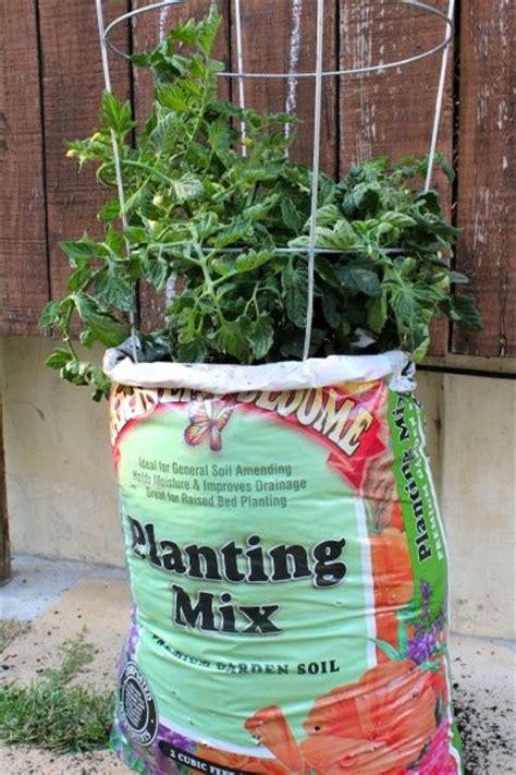 gardening in potting soil bags hawe park