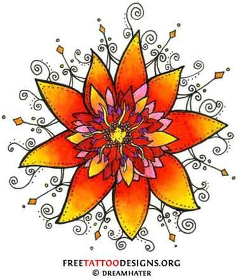 tattoo flash lotus flower flower tattoos floral lily lotus tropical sunflower