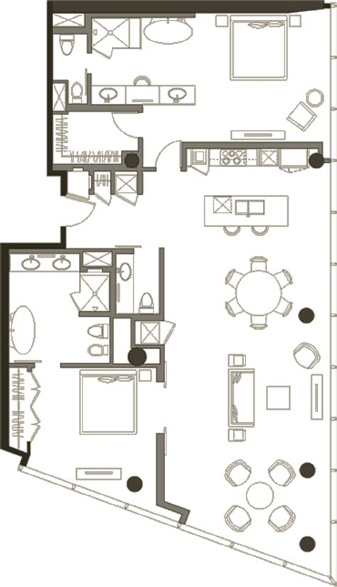 veer towers floor plans penthouse 2 bedroom 187 floor plan 2 187 veer towers