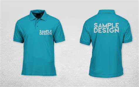 mockup polo shirt cdr version
