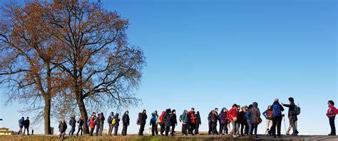 trekking pavia social trekking 2017 a pavia una festa per camminatori