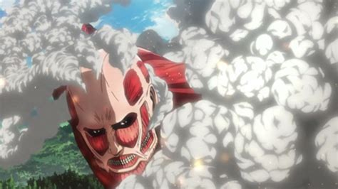 Attack On Titan Giants Ukuran S giants attack in attack on titan anime promo