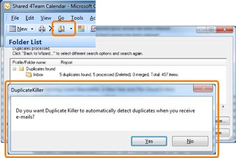 Remove Email From Search Duplicate Email Remover Remove Duplicate Emails In Outlook Using 4team Duplicate Killer