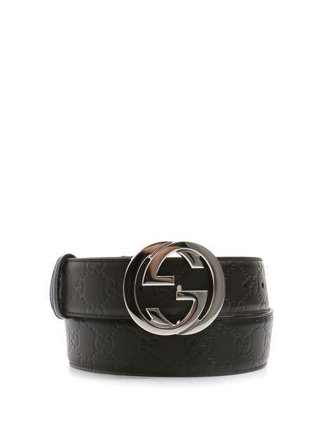 interlocking gg leather belt by gucci belts ikrix