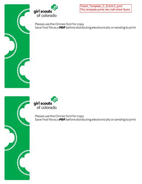 issuu girl scouts of colorado general flyer templates by