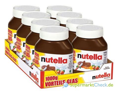 Nutella 1000gr nutella kalorien angebote preise
