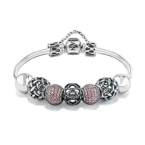 charms and for jewelry pandora aloud pink bracelet designed by