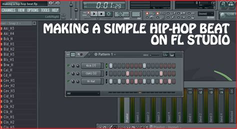 drum pattern for rap making a simple hip hop beat on fl studio the highest