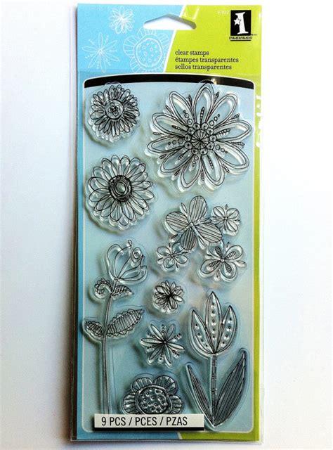 inkadinkado doodle flowers inkadinkado clear st doodle flowers 97622