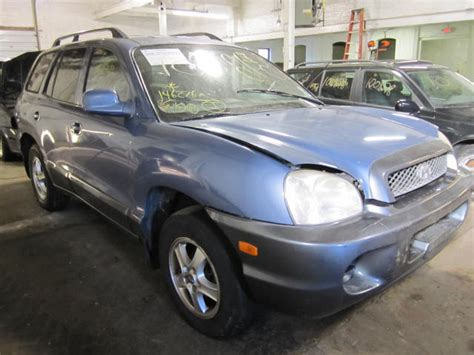 2002 hyundai santa fe parts parting out 2002 hyundai santa fe stock 100818 tom