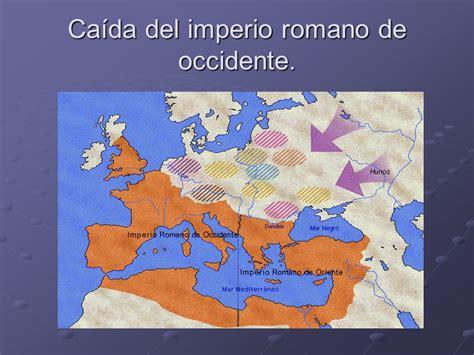 caida del imperio romano de occidente historia y edad media ca 237 da del imperio romano de occidente ppt descargar