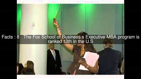Temple Mba Stats by Fox School Of Business Of Temple Top 14 Facts
