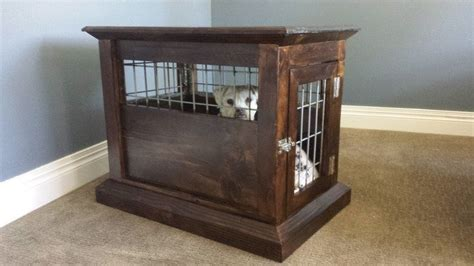 kennel side table how to build a kennel end table diy projects for