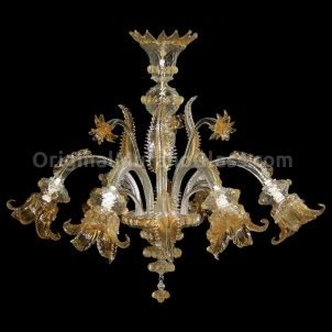 chandelier fiordaliso floral murano glass 6 lights looking exquisite murano glass chandeliers at affordable prices