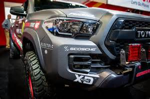 Truck Accessories For Cing Toyota Unveils 2017 Tacoma Trd Pro Race Truck Equipment