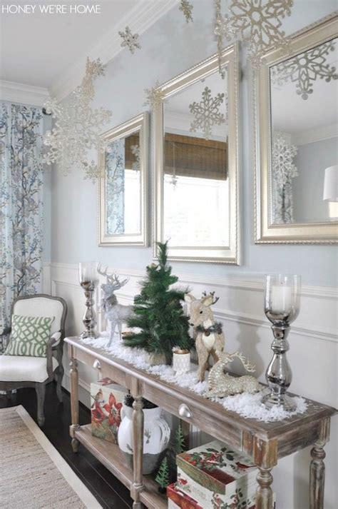 snowflake christmas decor honey  home