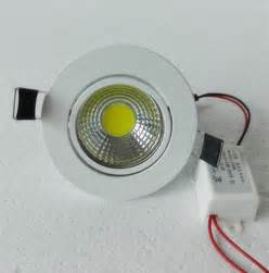 Led Ceiling Recessed Lights 50pcs Lot Dimmable 3w 6w 9w Cob Led Spot Light Led Ceiling L Recessed Led Downlight Cob 110v
