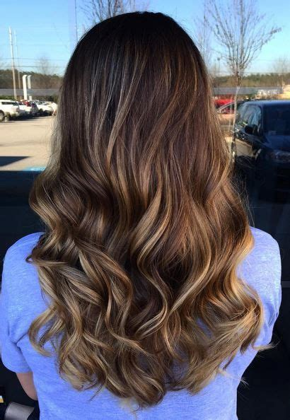 brunette ombres pictures soft brunette ombre balayage highlights hairstyles