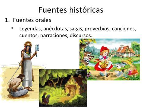 Imagenes De Fuentes Historicas Orales | las fuentes historicas