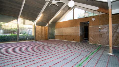 how much does radiant floor heating cost pros and cons