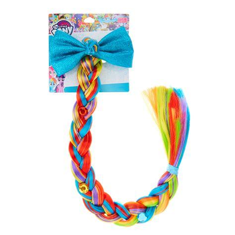 Hairclip Poni Poni Clip my pony rainbow dash braid hair clip s