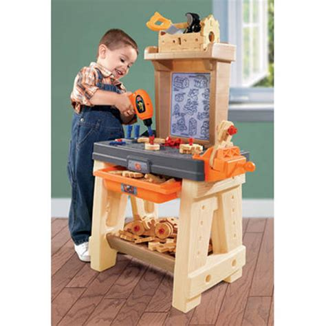 tool bench for kids step2 real projects workshop and tool bench walmart com