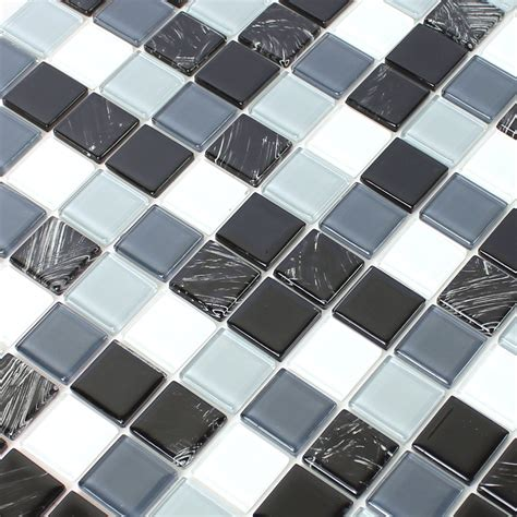 self adhesive glass tile affordable full size of self adhesive glass mosaic tiles black grey tm33423