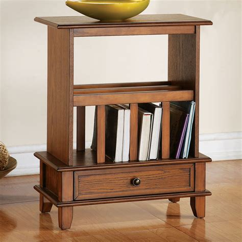 Jardan Side Table Chairside End Table With Bookshelf Dcg Stores