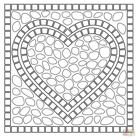 mosaic pattern to print 17 best images about coloring pages on pinterest dovers